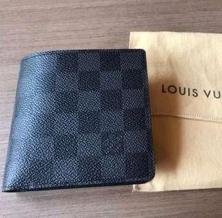 LV DAMIER GRAPHITE CANVAS MULTIPLE WALLET