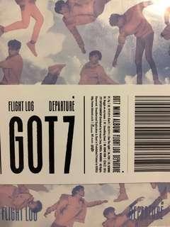 [WTS] GOT7 Flight Log Departure Album