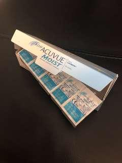 Acuvue Moist with Lacreon (Daily Lenses) #Dec30