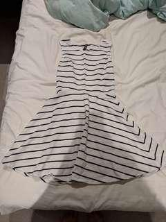 A line sleveless dress - size 6 (worn once)