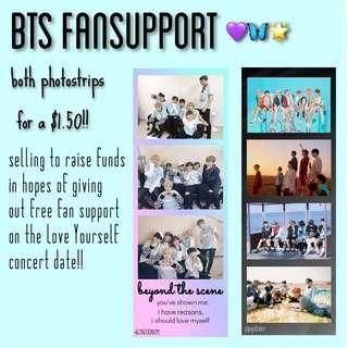 BTS fansupport!! | photostrips✨🌸