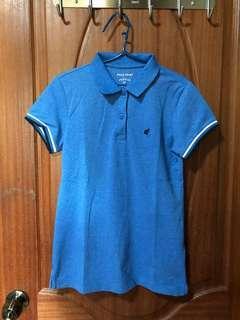 Women's Polo Shirt - Aqua Blue