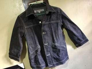 Bench Black jeans Jacket
