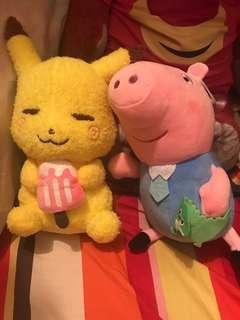 比卡超 Peppa Pig