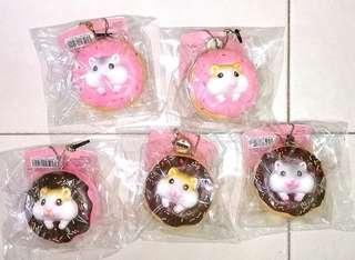 Hamster Squishies / Hamster Squishy / Donut Squishies / Donut Squishy / Squishies / Squishy