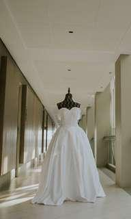 2 LOOKS WEDDING GOWN
