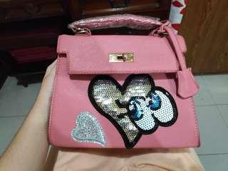 2 in 1 Non Branded Sling Bag/Hand Bag