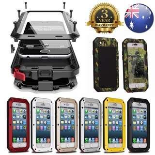 Shock proof Cover Case Waterproof iPhone Samsung 5 6 7 X