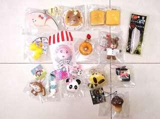 Rare Squishies / Rare Squishy / Kapibarasan Squishy / Meimei Cafe Squishy / Nameko Squishy / Squishy / Squishies