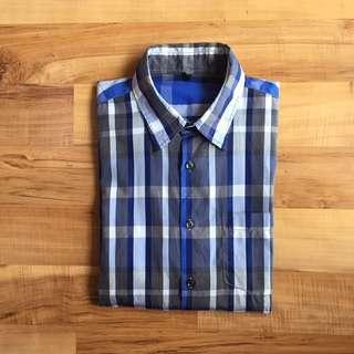Benetton Checkered Shirt - Men