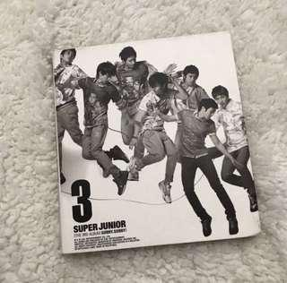 SUPER JUNIOR 3RD ALBUM REPACKAGE - SORRY SORRY/ IT'S YOU