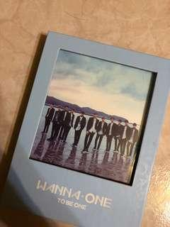 WTS WANNA ONE TO BE ONE ALBUM