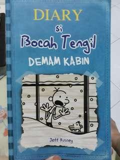 Novel diary of wimpy kids