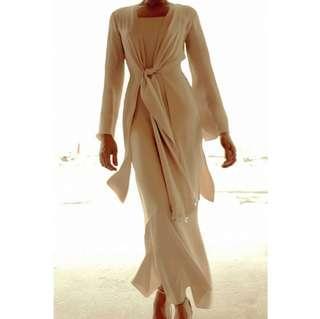 Alia Bastamam kebaya tops n slip dress