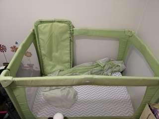 Baby Playpen full set like new, with good quality mattress