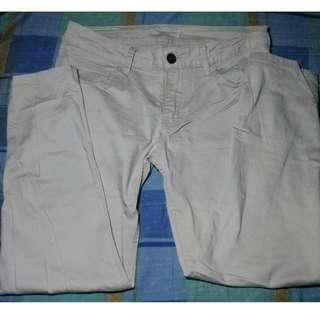 Oxygen Cream Chino Pants Slacks