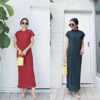 [BEST SELLING] [PO] Qiao Bat Sleeved Maxi Dress