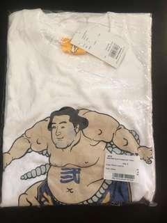 FR2 Fxxking Rabbits White Sumo Tokyo Shirt Size Small