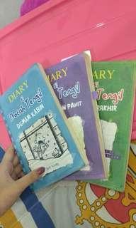 Novel wimpy kid bocah tengil seri