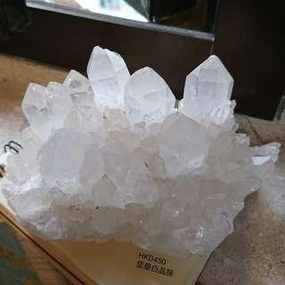 造型一流消磁白晶簇