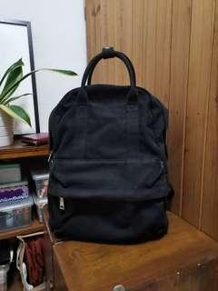 Two Way Backpack | Washable material | Black
