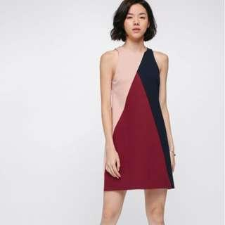 Nadege Colour Block Shift Dress