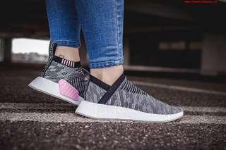 🚚 全新♥️Adidas NMD city sock系列 灰粉