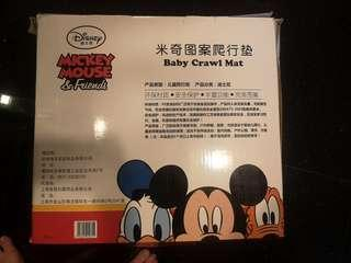 Disney crawling mat