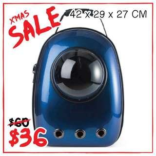 """""""Galaxyblue"""" Astronaut Capsule Cat Bubble Backpack Carrier"""