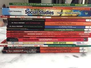 Humanities textbooks