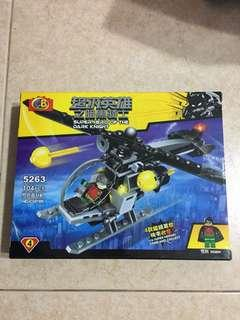 Robin Helicopter Lego