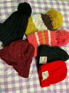 🚚 冬季毛帽