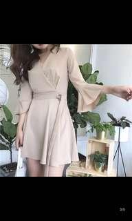 OL斯文連衣裙