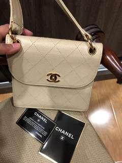 Guaranteed 100% authentic  Vintage Chanel CC Caviar Shoulder Bag
