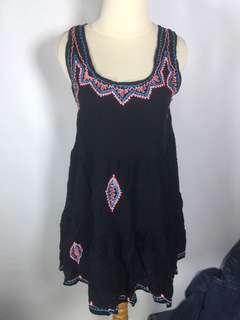 black bali dress