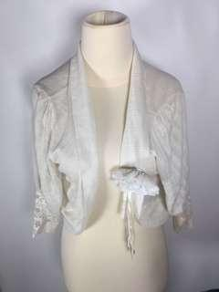 white silky outer