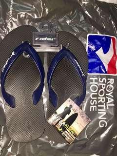 100% authentic new rider women slipper