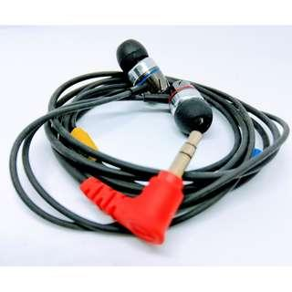 Sennheiser CX 1.00單元 DIY版 配全新 1M 無氧銅線