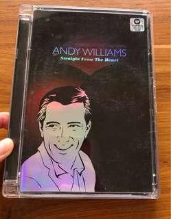 Andy Williams straight from the heart music cd. 2 discs