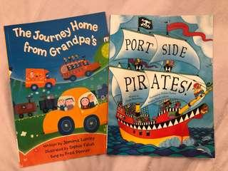 The journey home from grandpa's & Port Side Pirates!