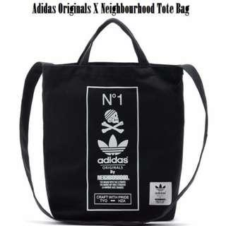 [Limited Stock]!! Adidas X Neighbourhood Tote Bag