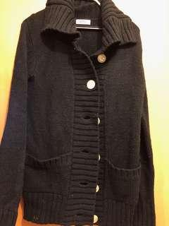 Old Navy Black Knitted Jacket
