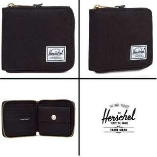 [Instocks!] Herschel Walt Zip Wallet (Black)