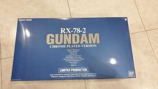 PG Perfect Grade RX-78-2 Gundam Limited Chrome Finish Ver.