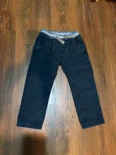 🚚 ESPRIT雙層棉棉褲 藍色