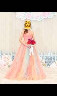 🈹結婚、行禮、迎賓、進場、敬酒彩色裙