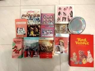 CLEARANCE twice red velvet ioi wanna one