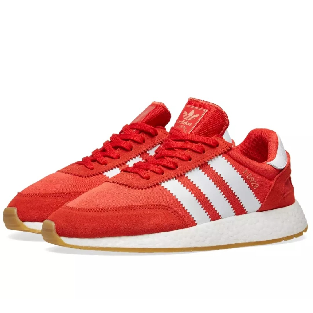 Adidas Iniki I-5923 Red Gum Boost sole 89cfd78d5