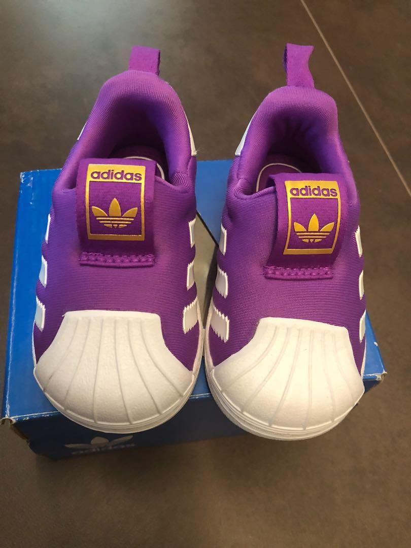 dfd3b9e8e03 Adidas Superstar 360 for Kids (Purple)