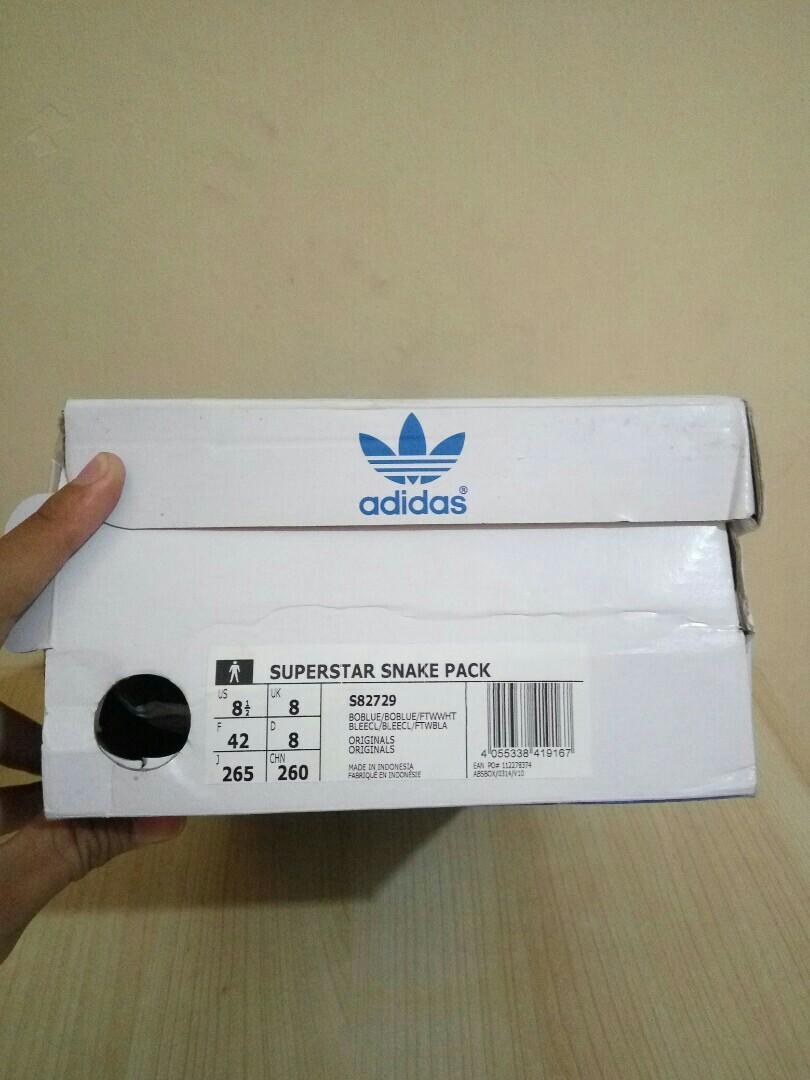 Adidas Superstar Snake Pack Original 100% BNIB